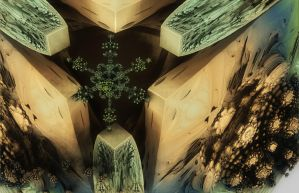 Snowflake On A Box by cara-pace