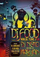 dj Food- robots and ninjas by dronograph