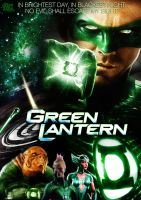 GREEN LANTERN MOVIE POSTER by Alex4everdn