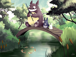 Totoro by TrollcreaK
