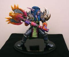 WoW Kalguraz Sculpture by T-Tiger