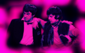 Second Doctor and Jamie wallpaper by Leda74