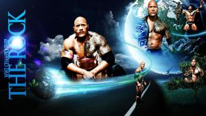 The Rock - Wallpaper by mikelshehata