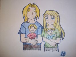 Happy FMA  Family by sonic4568