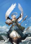 Sky of angel by inshoo1