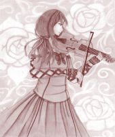 IS: Violin by Queen-of-Chains