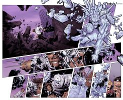 Wolverine and the X-Men #2 DPS - Colored by TracyWong
