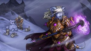 Snowpuppies - 2014 Holiday Wallpaper! by Noxychu