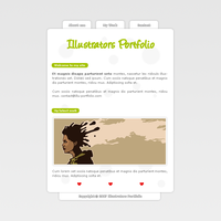 Illustrators Folio Template by apokalypseAT