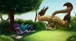 The changeling hunting by Weird--Fish
