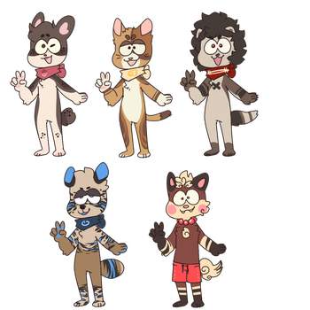 Quickie Chibi adopts Open reduced by Fox-mutts
