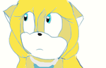 Maria the hedgehog ._. by Mikkathecat