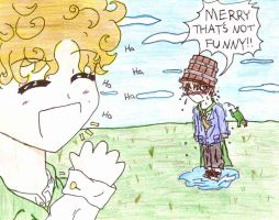 Merry the prankster by Fred-Weasley