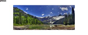 Avalanche Lake, Sperry Glacier by packgrad2k1