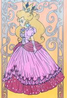 Peach the princess by Evanatt