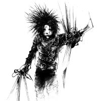 Edward Scissorhands by Karbonk