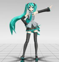 Project Diva Arcade Hatsune Miku MMD download by Reon046
