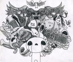 The Binding of Isaac by progressiveforest