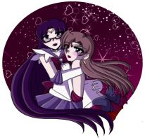 .:Sailor Nezz and Dawnie:. by Dawnrie
