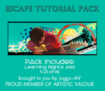 Escape Tutorial PSD Pack by juggsy