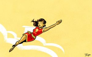 Mary Marvel by dryponder