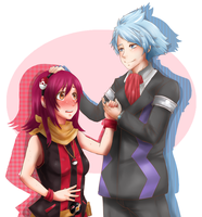 Steven Stone y Mikki by LEILA-S-P7