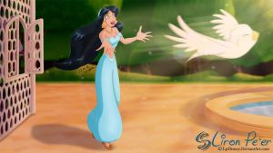 Jasmine 05 - To Be Free... by LPDisney