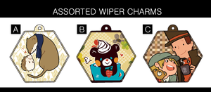 Wiper Charms by ah-bao