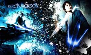 Percy Jackson Wallpaper by ShaydedxLightning