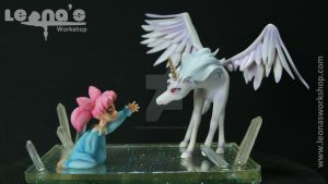 Chibiusa and Pegasus Figure by LeonasWorkshop