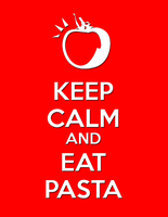 Eat Pasta Poster by dashie4president