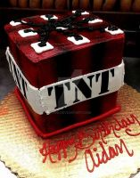 Minecraft TNT by tini