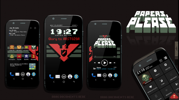 Papers, Please for Android by Ramiroquai