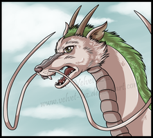 Haku - Spirited Away by Velvet-Loz