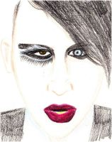 Marilyn Manson by axrinekey