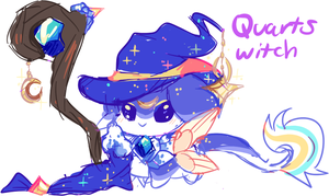 {MYO} Quarts Witch Floof-Fluffs by Susouris
