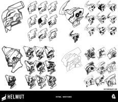 Helmut - Initial Sketches by failstarforever