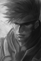 MGS Solid Snake. by chaosringen