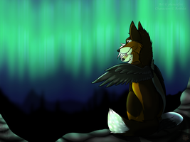 .:Art Trade:. With Ankhlet by phenoxfire