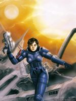 Shepard Commander by clc1997