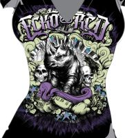 Rock Concert Tee by Initial-Dzines