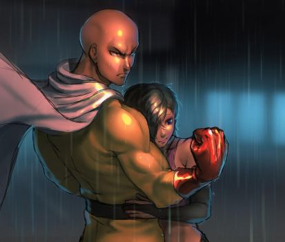 Commission One Punch by kotorikurama
