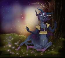 Fairy Dusk by sighthoundlady