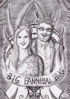 Hannibal - Big Fannibal Hug 2 by FuriarossaAndMimma