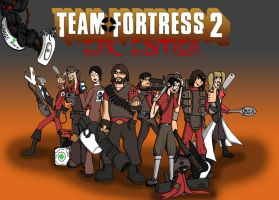 Friends Team Fortress 2 by NonsenseGhost
