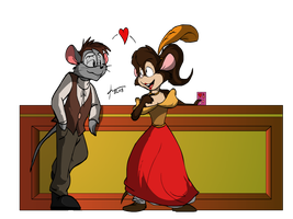 KUWT-American Tail Valentine's Day Jam 3 by AaronsArtStuff