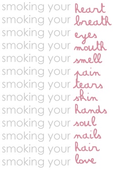 smoking... by tiredinlove