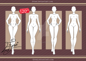 Clothes Model Front Female (7) by Efyme