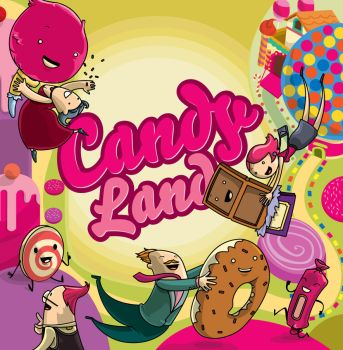 Candy Land by Paperpanic