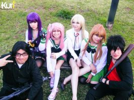 Highschool of the Dead Team by MaryMagika